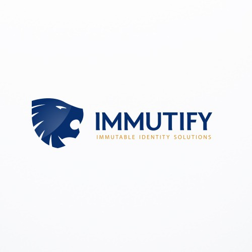 Logo and website for a secure online business service