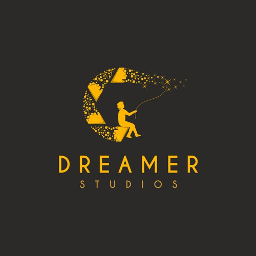 Dreamer - Logo for a  wedding photography studio