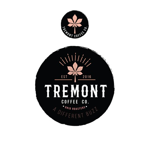 Vintage/Bold Logo concept for Tremont Coffee Co.