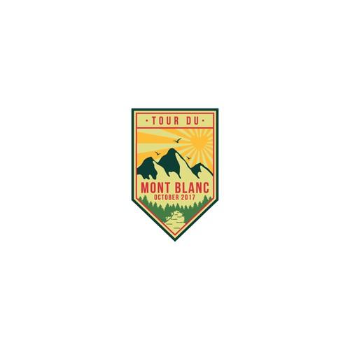 Sticker for Hiking Team