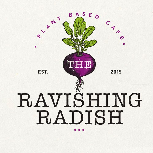Logo Design For Ravishing Radish