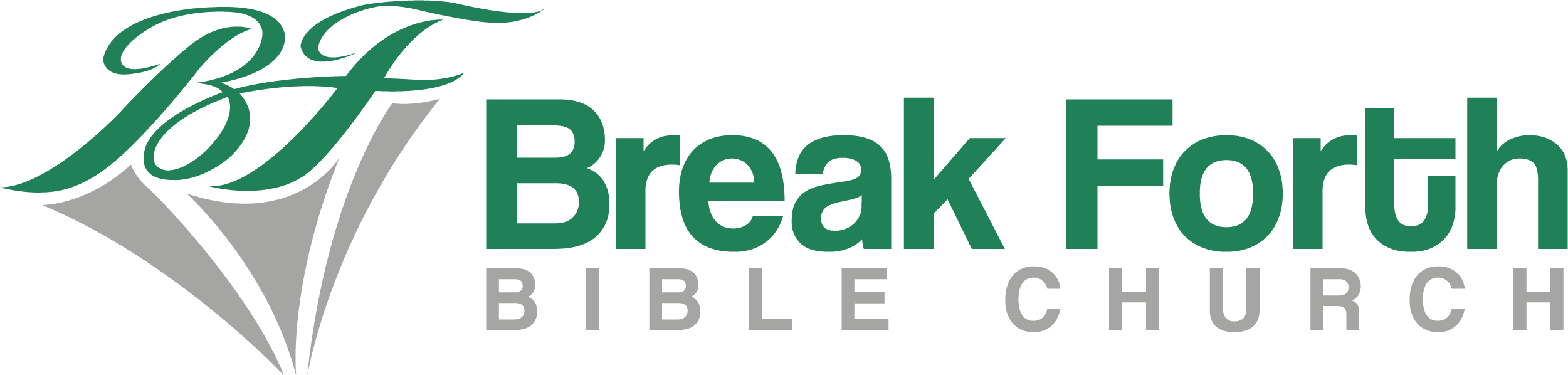 Update or redesign logo for Break Forth Bible Church