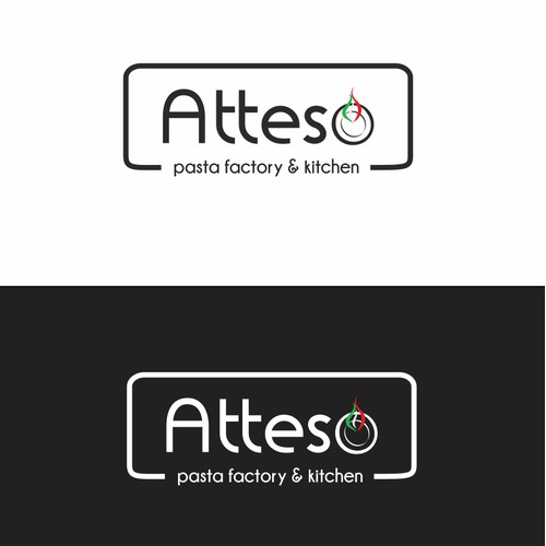 Create an innovative logo for an up and coming Italian Eatery.....