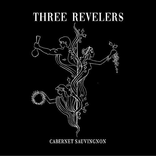 Three Revelers Cabernet Label