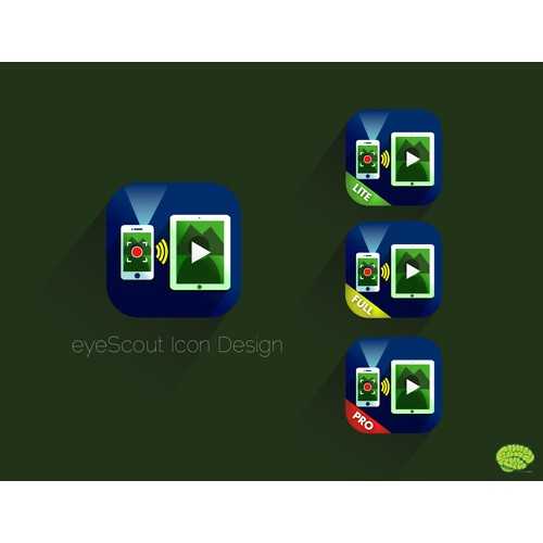 eyeScout - Icon needed for a remote camera viewer.