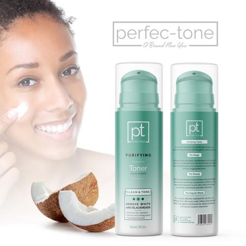 Perfec-Tone Skin Care Packaging