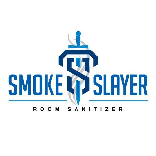 Create a bold new logo for Smoke Slayer