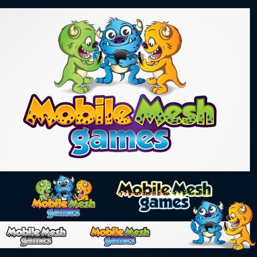 Create a Fun Playful Logo for a Unique Mobile Games Company