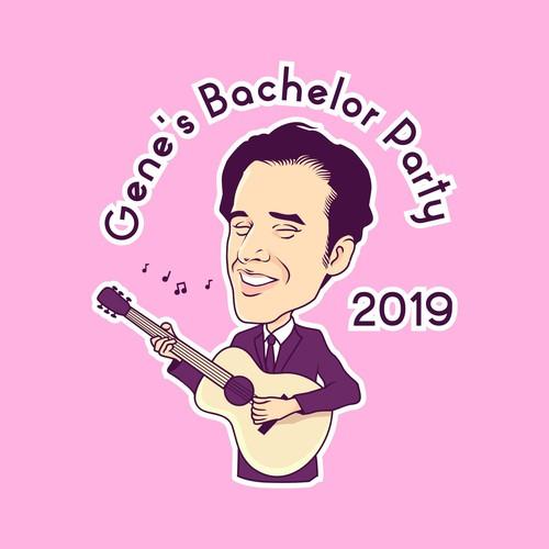 T'shirt design for Gene's Bachelor Party