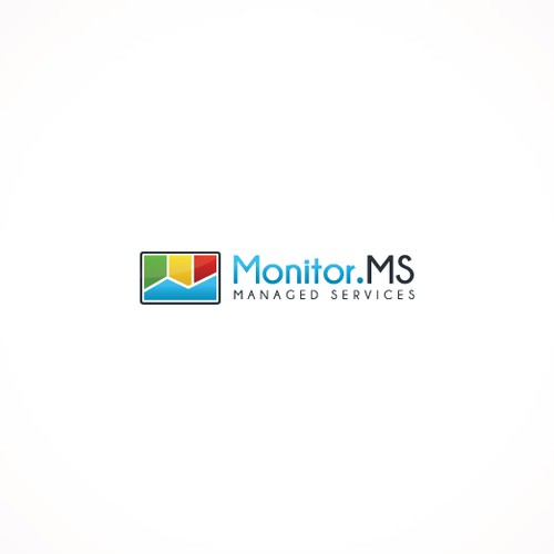 Logo & Business card design for managed services company Monitor.MS