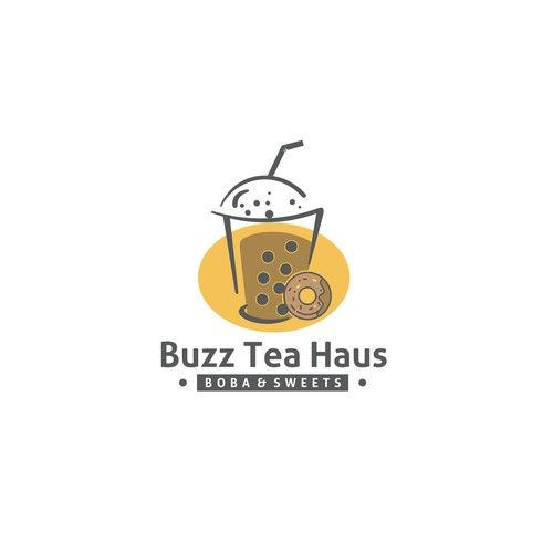 Design eye catching logo for bubble tea shop