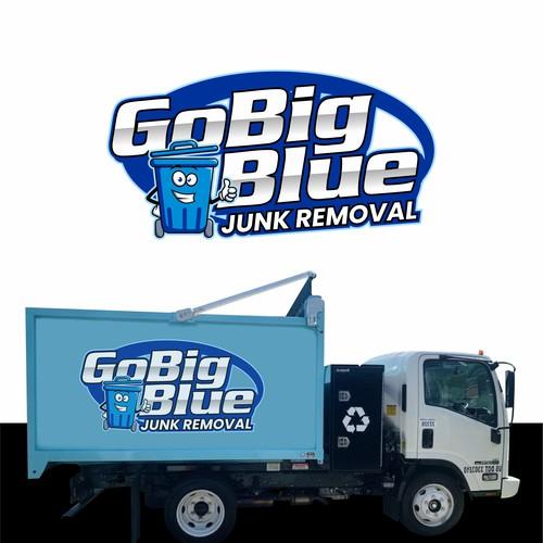 Logo Design Concept for a Junk Removal Service Company