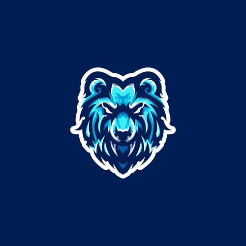 Mad Bear logo Design for Esport