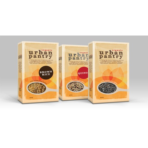 Natural Food Product - Packaging design.