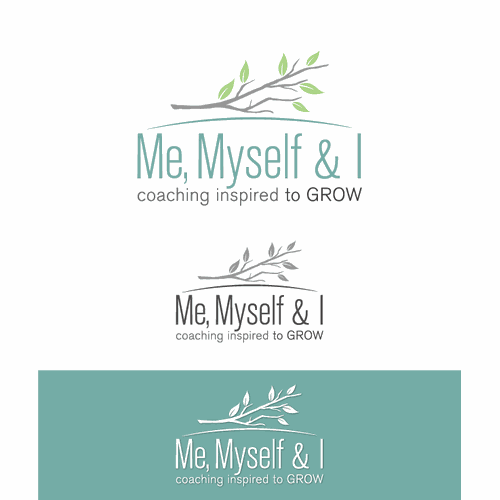 Me Myself and I, logo for a women inspired to grow, coaching of men and women.