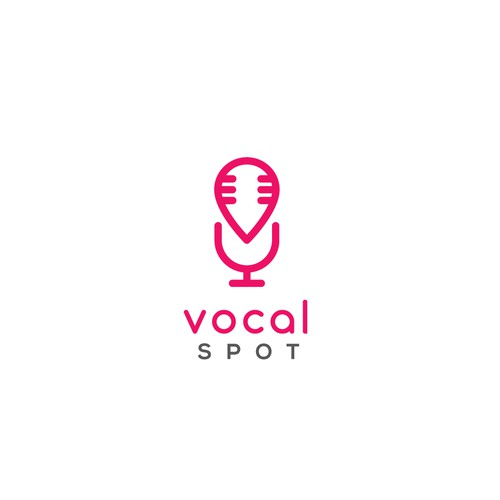 Logo for an singing event and app