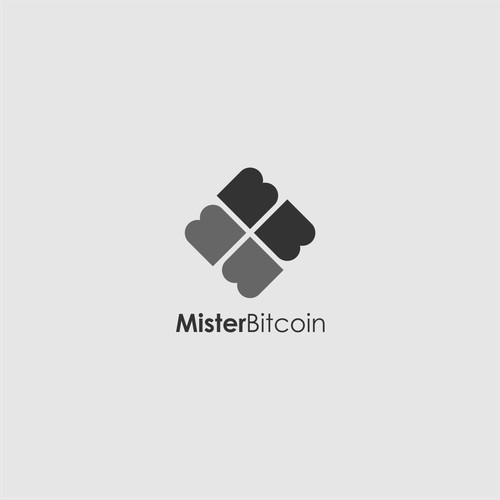 "Logo for Mister Bitcoin ""Crypto Revolution"""