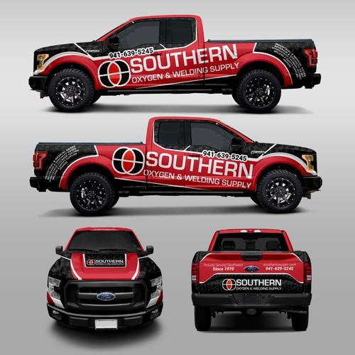 Southern Oxygen & Welding Supply Truck Wrap