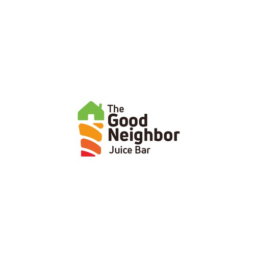 Logo concept for juice bar