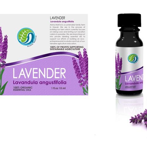 Aloha Mahi'ai - Lavender - label