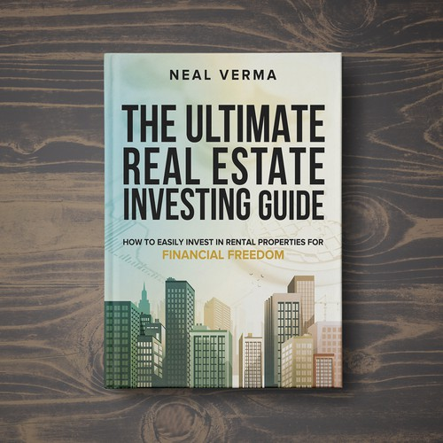 Design a bestseller book cover for real estate how to book