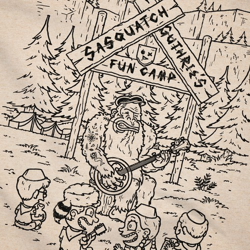 Sasquatch Guthrie's Fun Camp