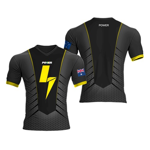 Simple Eye-Catching Esports Jersey