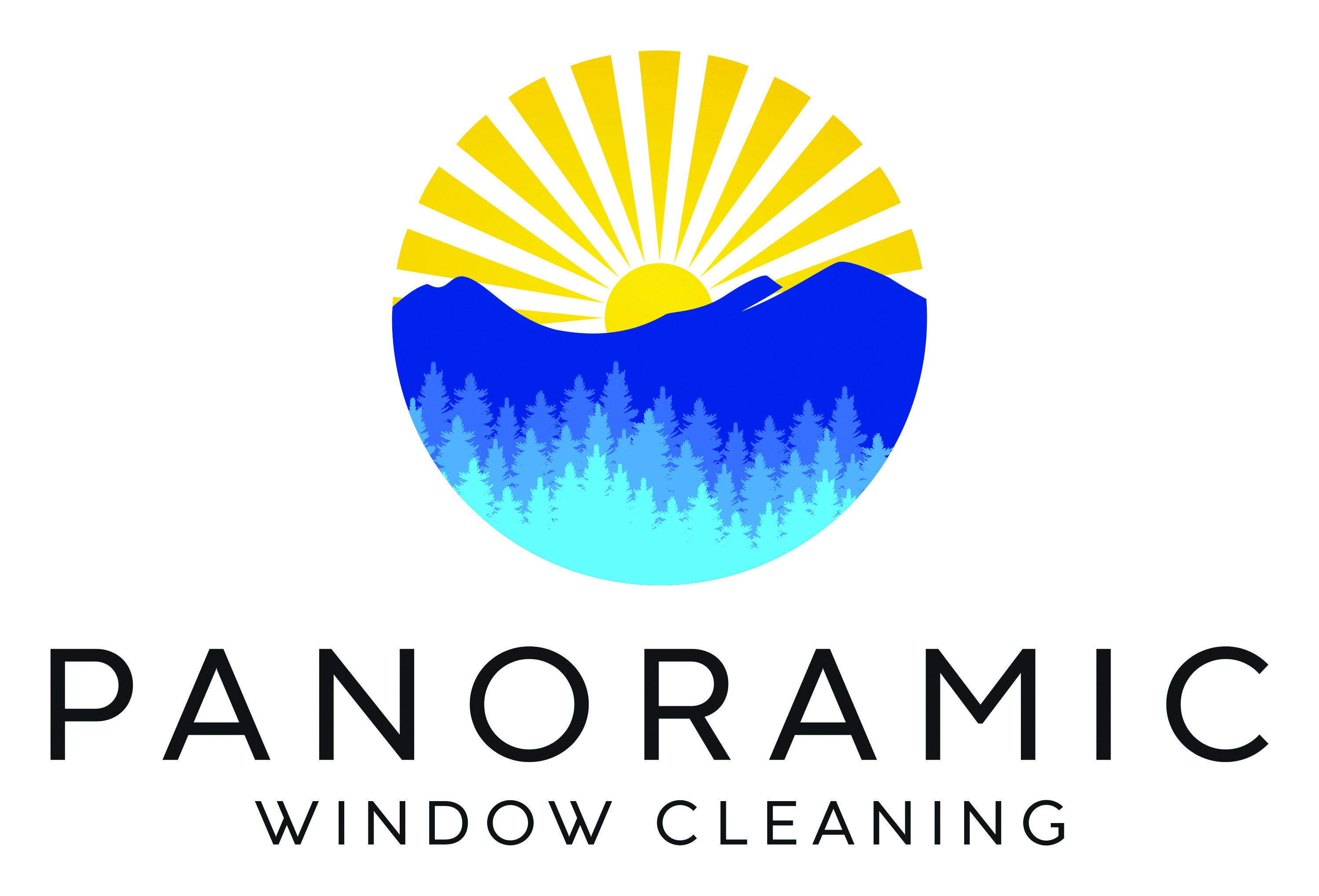 Psychedelic window cleaner needs a clean logo for all these cowboys
