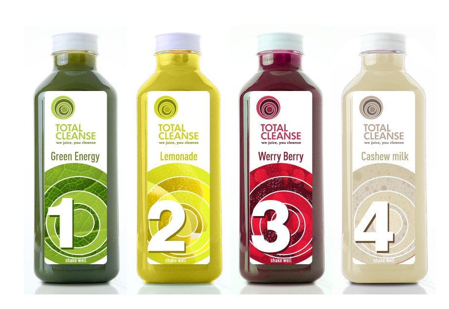 print or packaging design for Total Cleanse