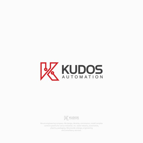 Logo concept for Kudos Automation