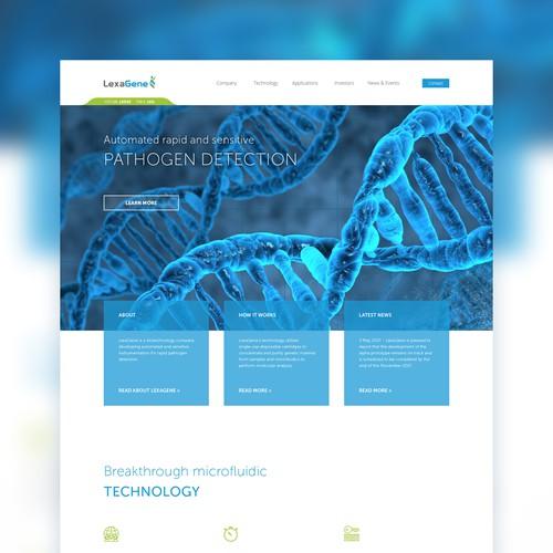 Pathogen detection website