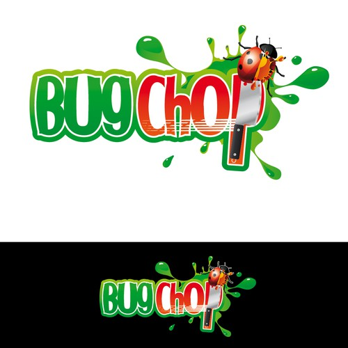 logo for Bug Chop (video game)