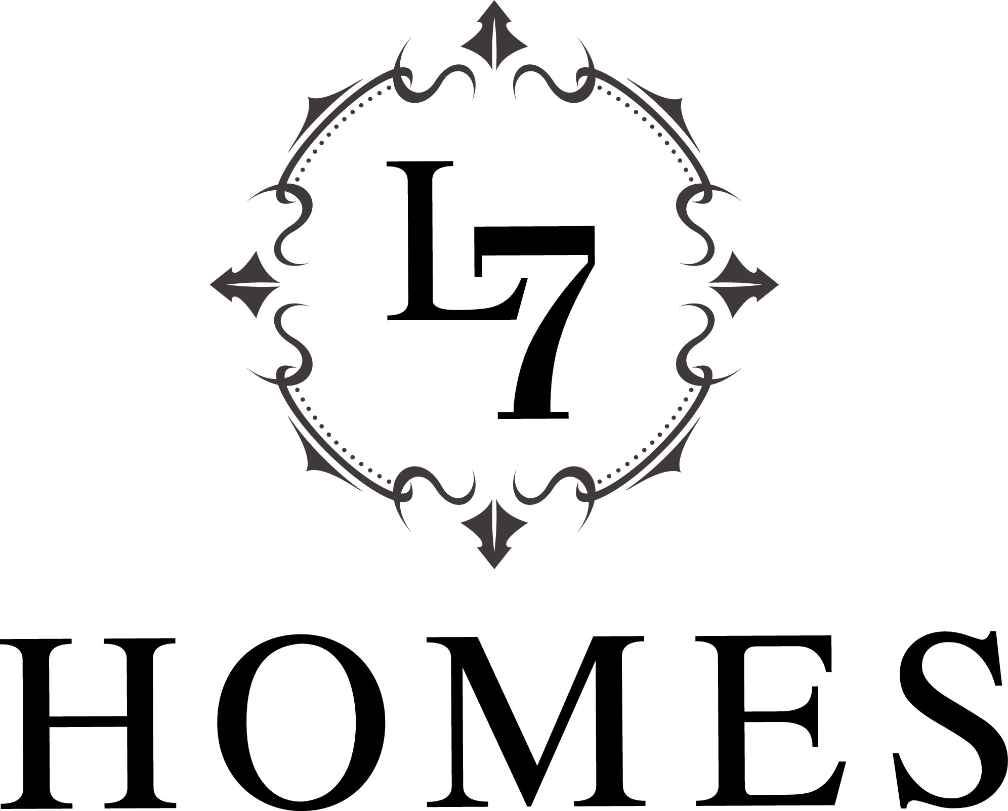 Create a destinct iconic logo for a luxury high end home builder