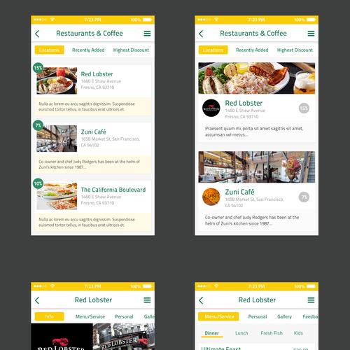 YEK - Local Stores Mobile App
