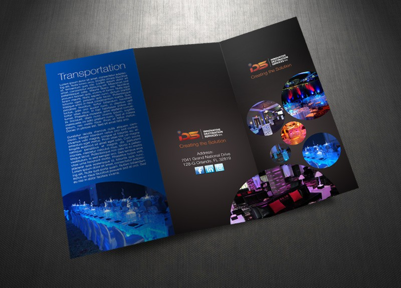 Innovative Destination Services Inc needs a new print or packaging design