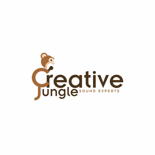 logo and business card for Creative Jungle