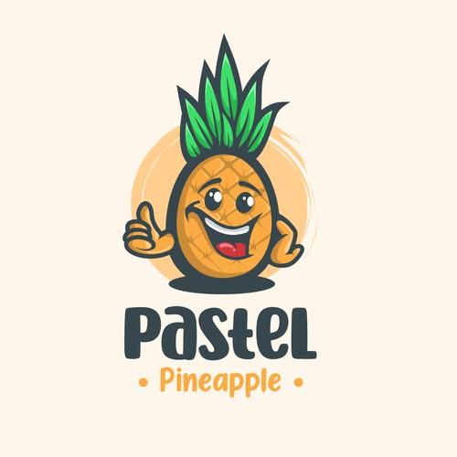 mascot pineapple