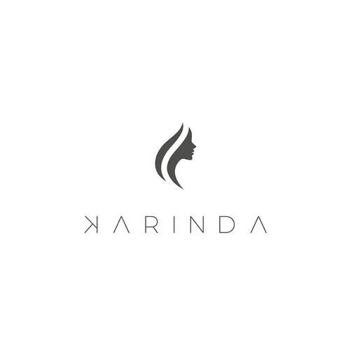 Logo for Karinda, a specialized hairdresser
