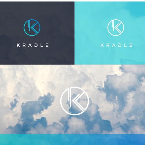 Modern logo design for Kradle
