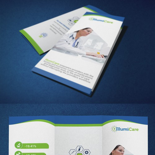 Training Trifold Brochure for physicians
