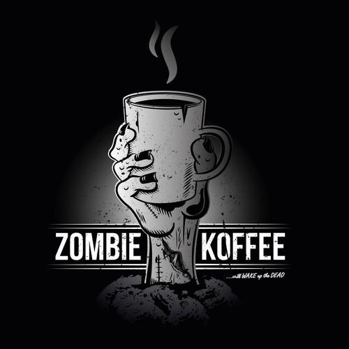 Zombie Koffee Logo