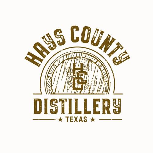 logo concept for a distillery