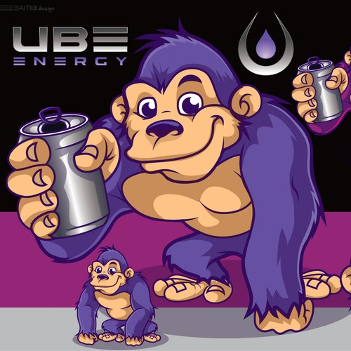 energy drink mascot