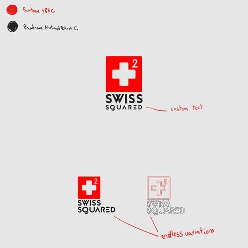 Swiss squared Logo design