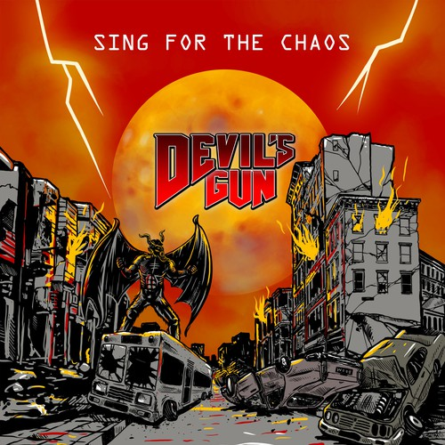 Create a Heavy Metal Album cover!