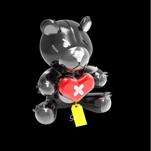 inflatable teddy bear