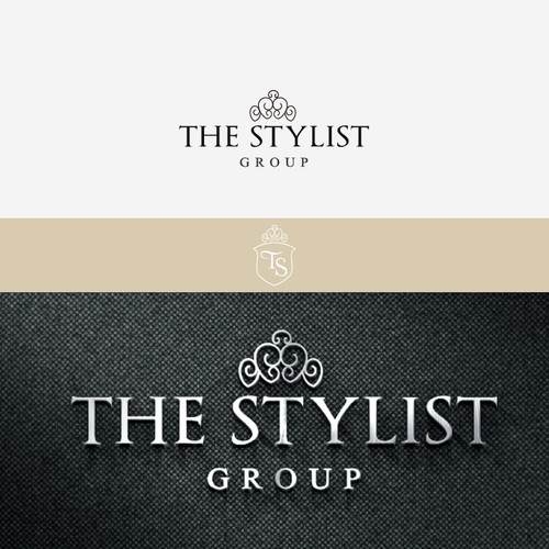 """high end logo & pictorial mark 4 a personal styling company, """"The Stylist Group"""""""