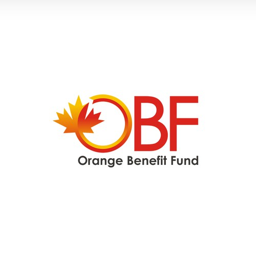 Logo and business card for OBF Orange Benefit Fund