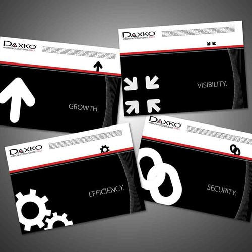 DAXKO Collateral Design