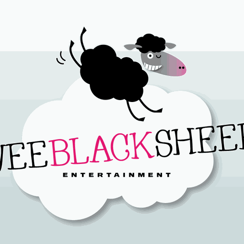 Logo for wee black sheep entertainment